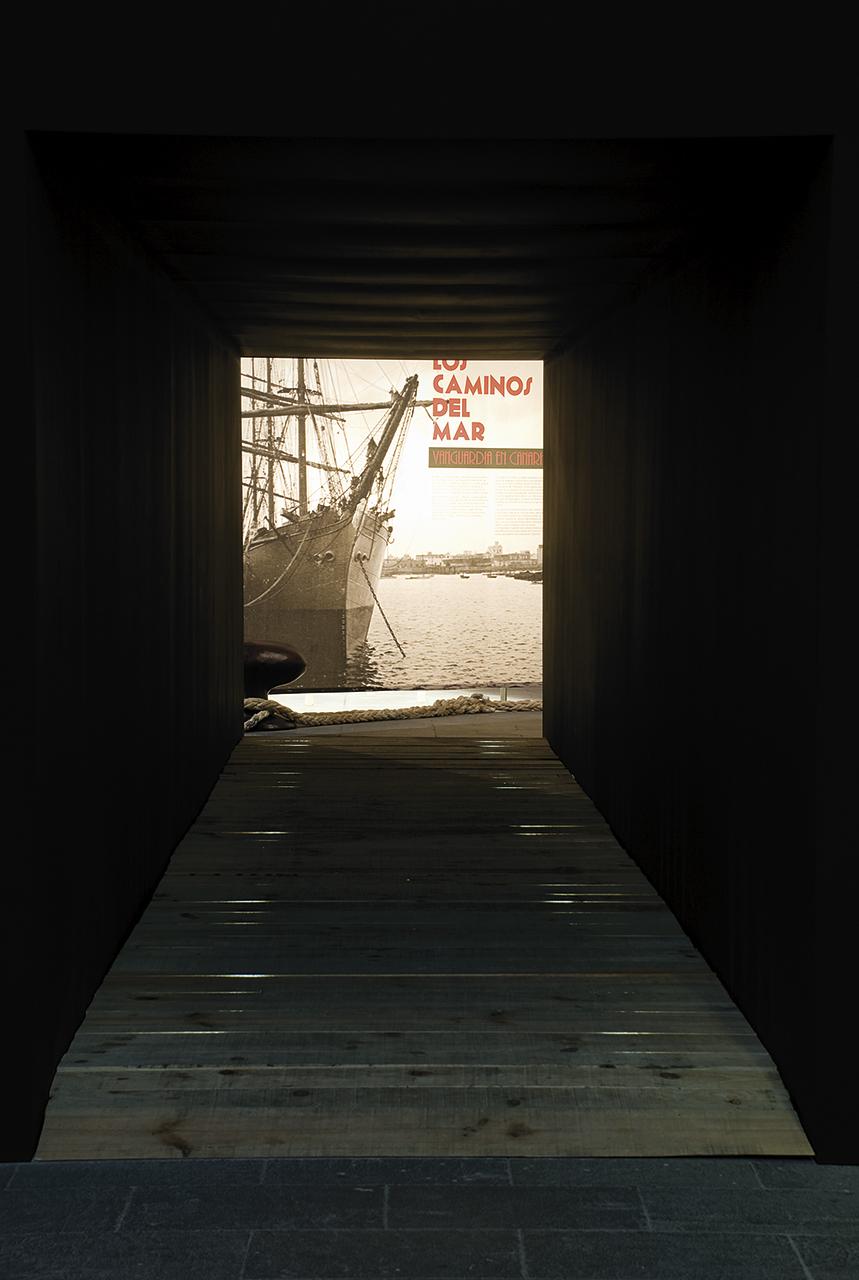 Exposición Los Caminos del Mar
