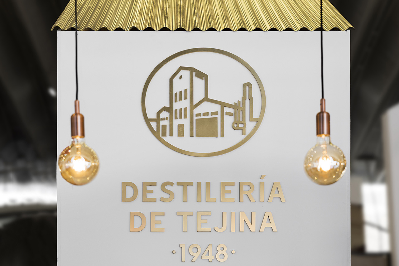 Detalle Stand Destilería Gastrocanarias 2019