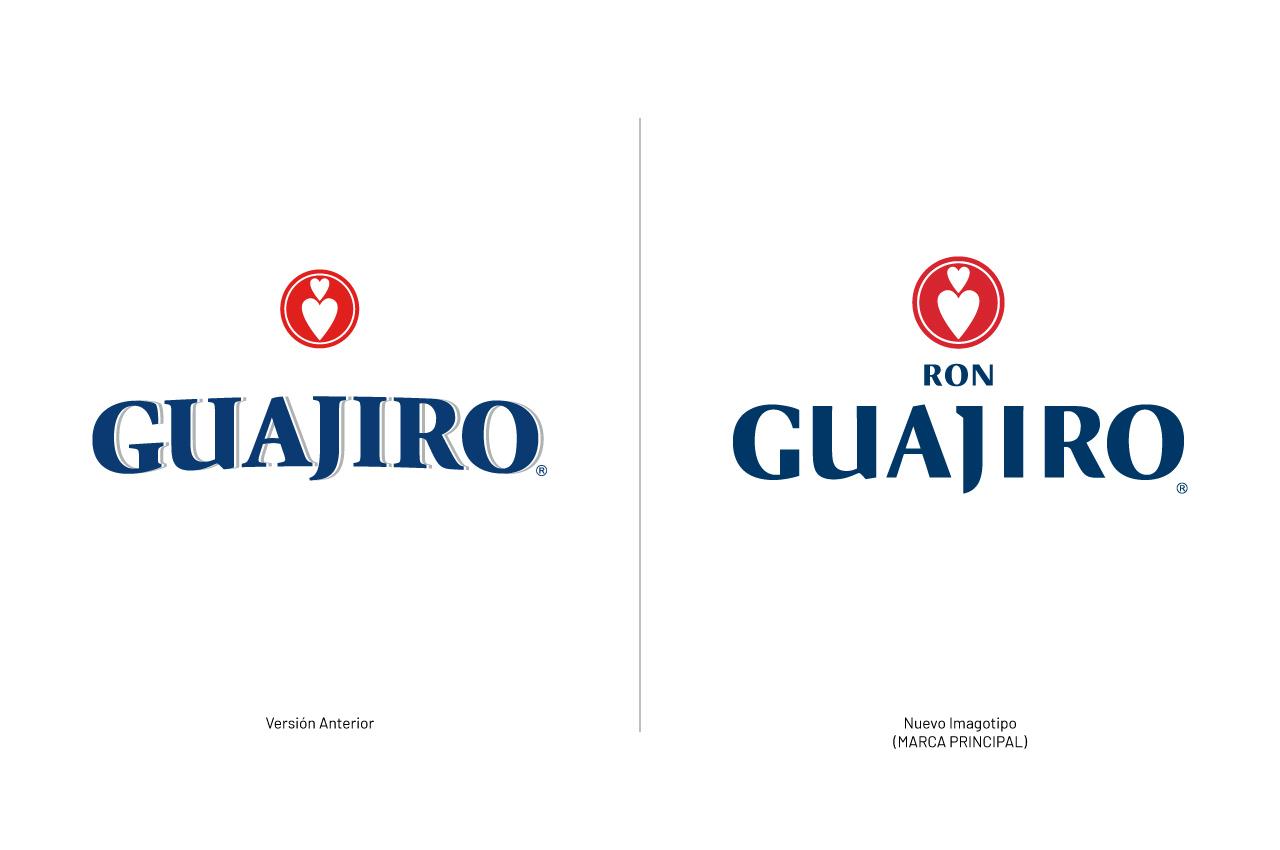 Rediseño Logo Ron Guajiro